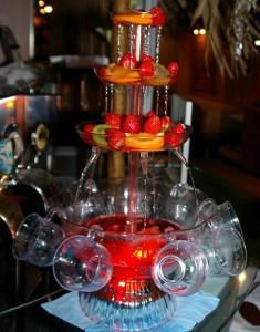 Красивый бизнес - аренда винных фонтанов